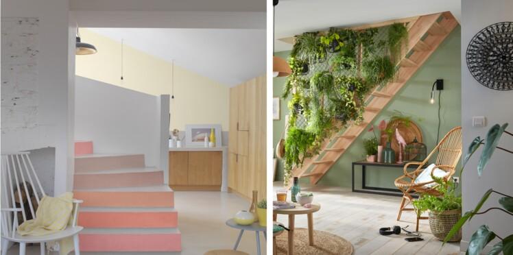 2 idées déco pour personnaliser un escalier