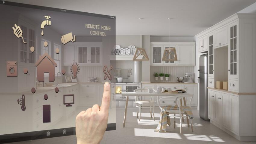 La maison du futur : connectée et sécurisée du sol au plafond !