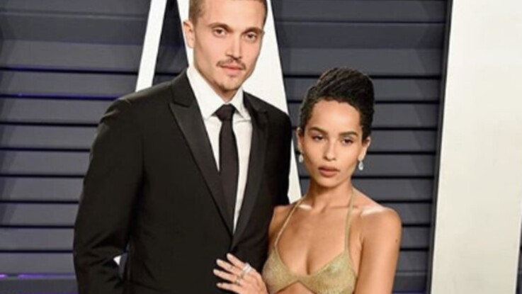 Zoë Kravitz et Karl Glusman se sont mariés à Paris !