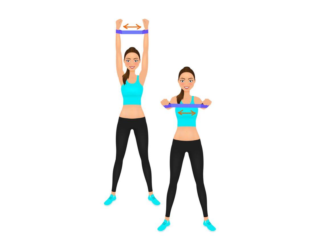 4 exercices efficaces pour tonifier ses bras : Femme