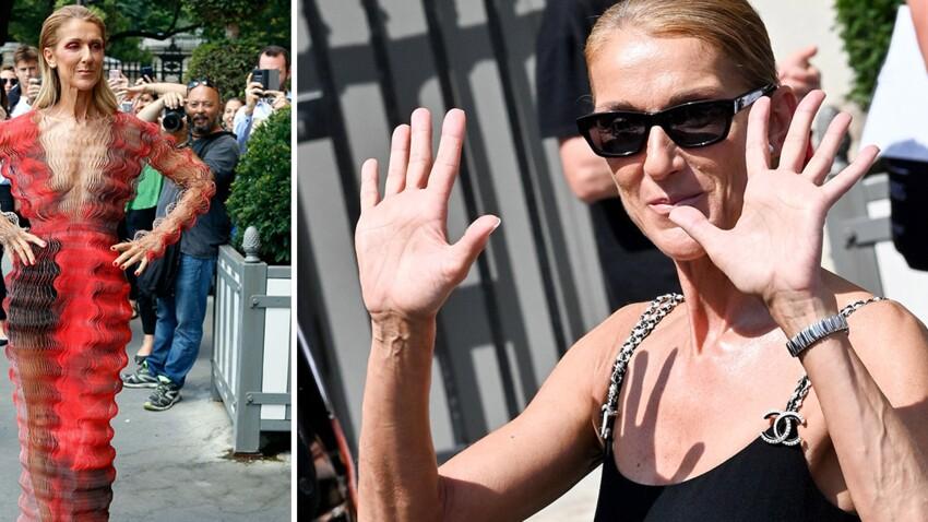 Photos - Celine Dion : ses tenues les plus folles et déjantées dans les rues de Paris (Amazing !)