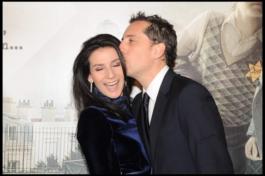 Marie Drucker, en couple avec Gad Elmaleh en 2008