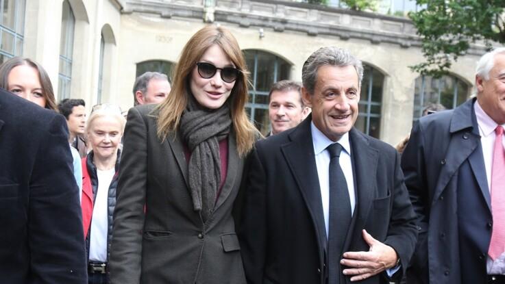Photo - La couverture de magazine de Nicolas Sarkozy et Carla Bruni dont tout le monde parle