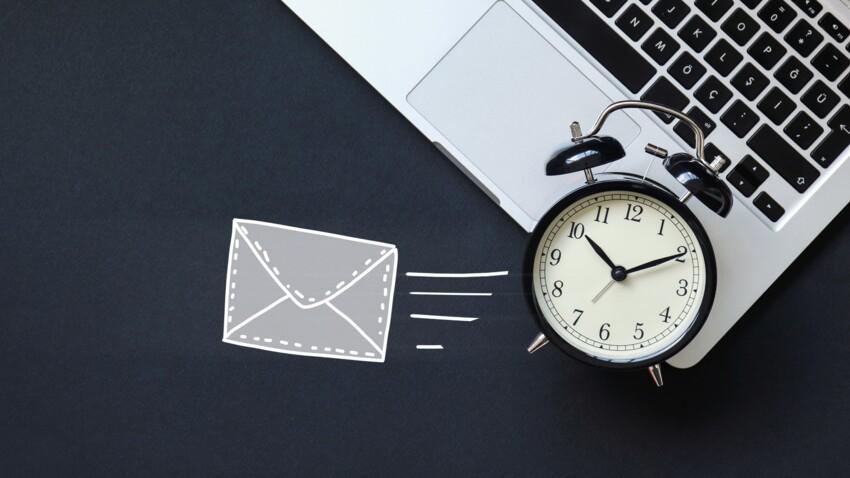 Comment programmer un mail ?