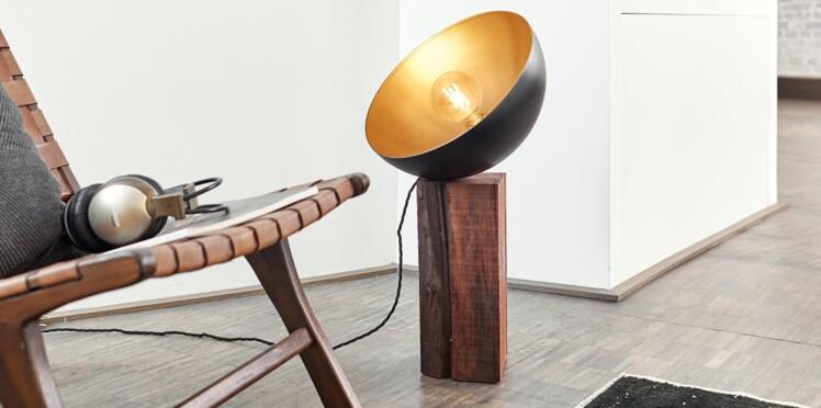 DIY : fabriquez une lampe projecteur, facile et ultra-tendance