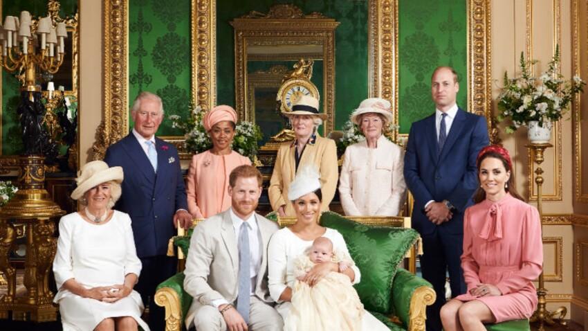 PHOTO - Le Prince William et Kate Middleton moqués pour leurs drôles de têtes au baptême d'Archie