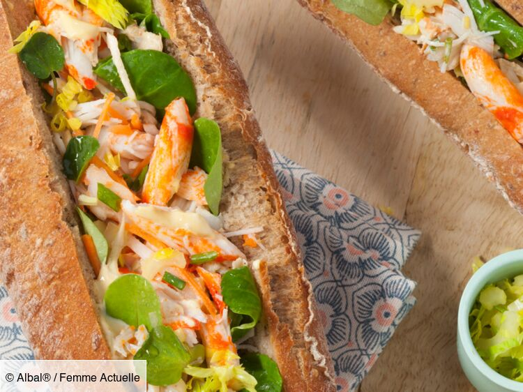 Sandwich au tourteau breton : découvrez les recettes de cuisine de Femme Actuelle Le MAG