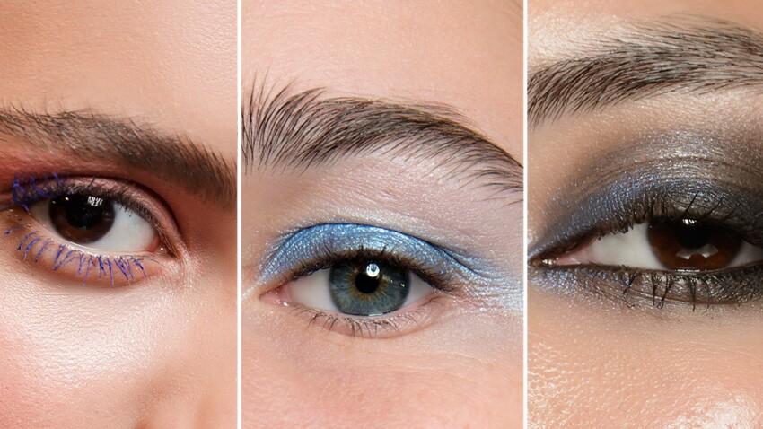 Maquillage d'été : comment adopter le regard bleu ?