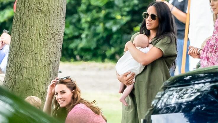 PHOTOS - Meghan Markle et Kate Middleton : comment elles ont réussi à s'éviter lors du match de polo de Harry et William