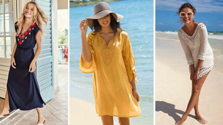 fffc8da98a Robe de plage : les modèles les plus canons de l'été 2019 : Femme ...