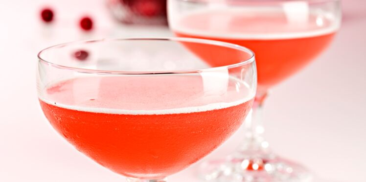 Cocktail Pom Cranberry Cosmo