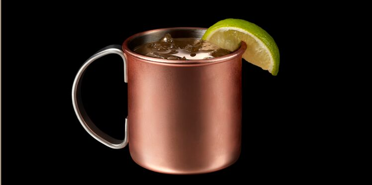 Cocktail French Mule