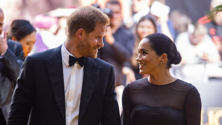 Photos - Meghan Markle : ce joli compliment que Beyoncé Knowles a fait à Archie lors de la première du Roi lion
