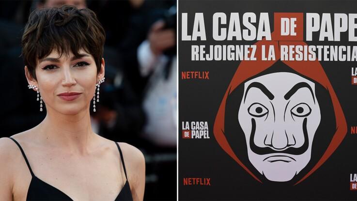 Photos - Ursula Corbero, l'actrice star de la Casa de Papel, sort le grand jeu en mini-robe velours pour le lancement de la troisième saison !