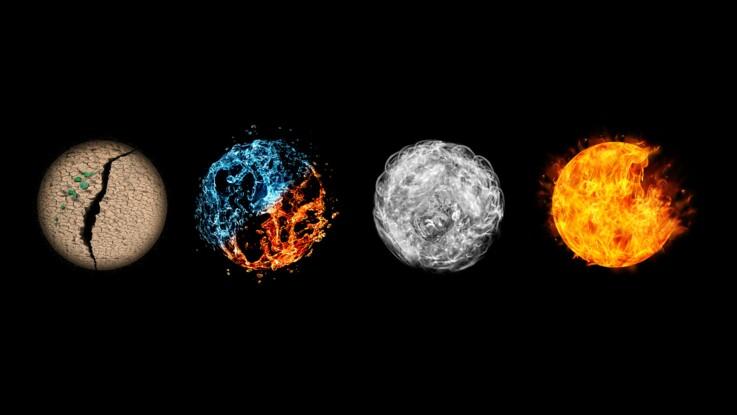 Jeu divinatoire : le message des 4 éléments