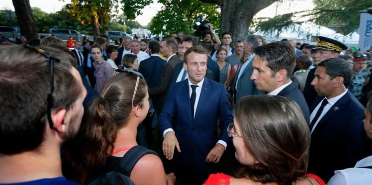 Emmanuel Macron : son geste spontané qui a du rendre fou ses gardes du corps