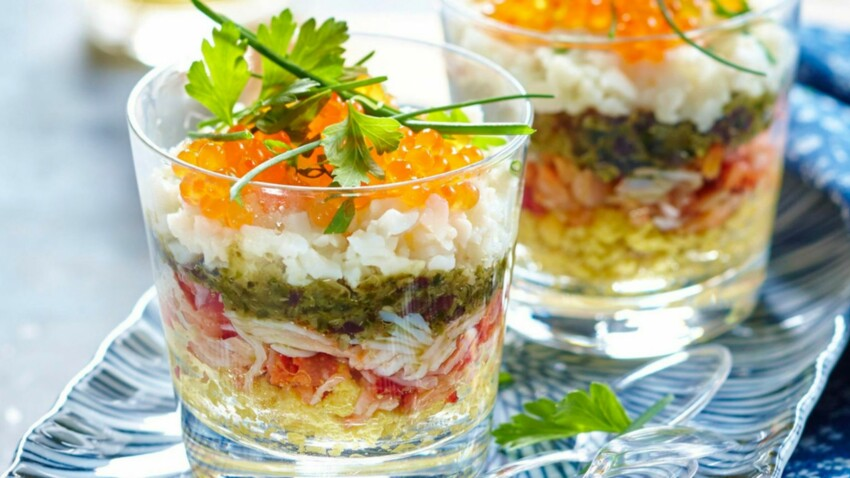 Apéro dînatoire : 10 recettes de verrines chic, originale et pas cher