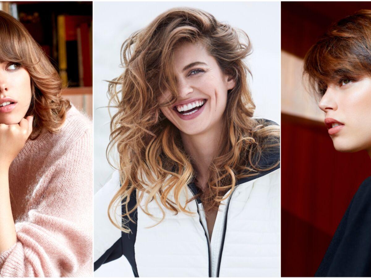 Les Tendances Coupe De Cheveux De L Automne Hiver Femme Actuelle Le Mag