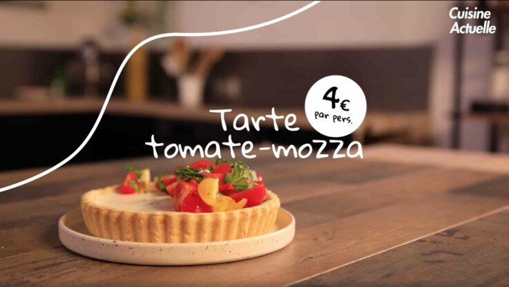 La tarte tomate-mozza : la recette fraîche pour la canicule
