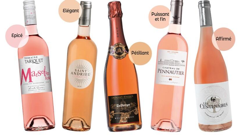 Notre sélection de vins rosé pour l'été 2019