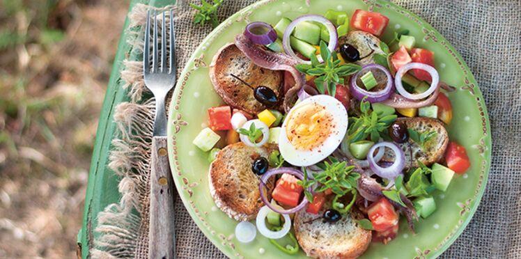 Salade Nissarde : pan bagnat à l'ancienne mode