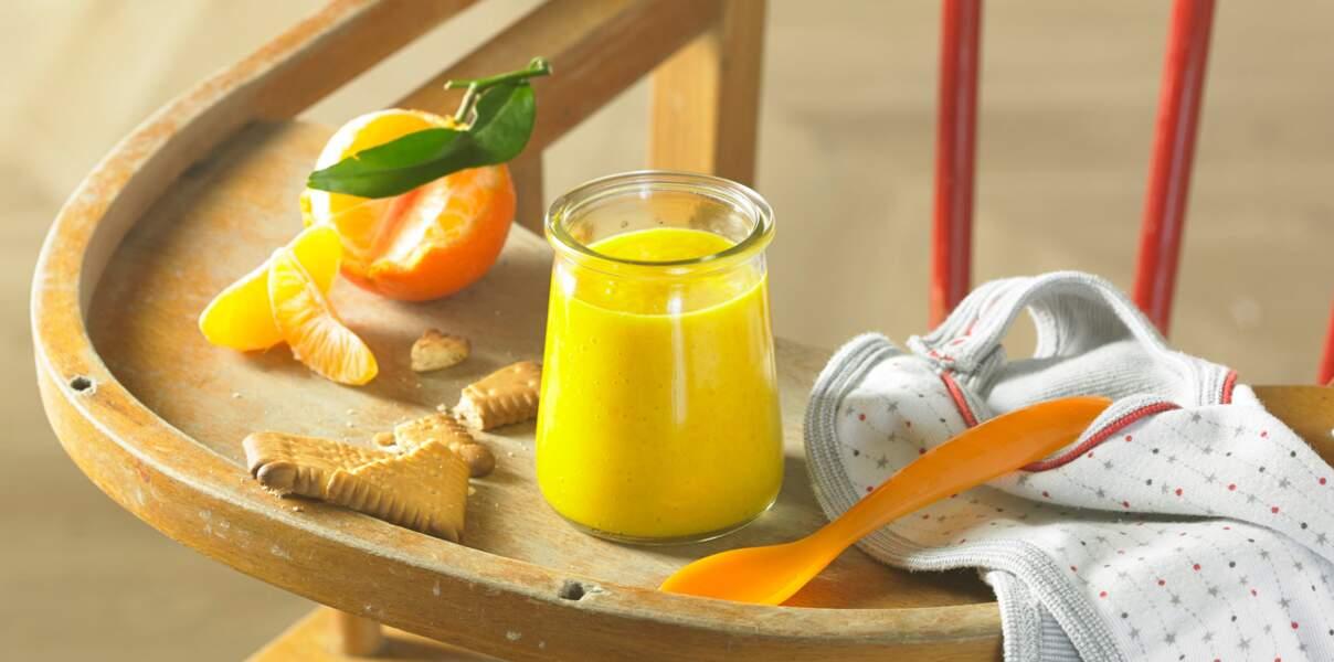 Compote de bébé aux poires et clémentines de Corse