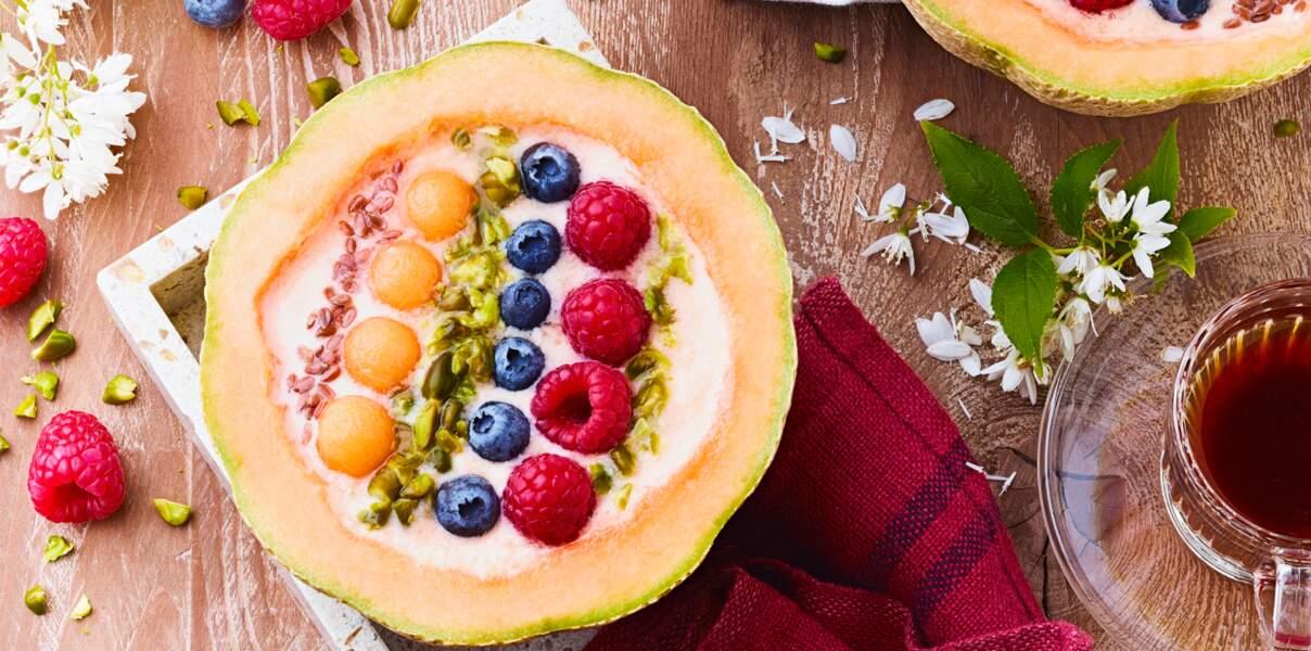 Melon smoothiebowl