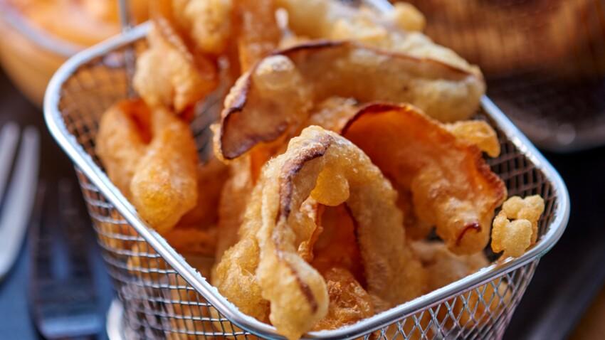 Anti-gaspi, la tempura de peaux de légumes