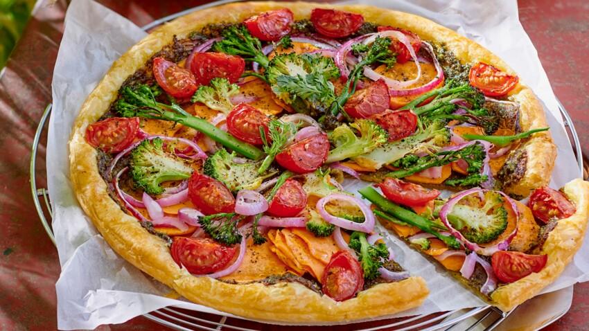 Tarte aux légumes du jardin