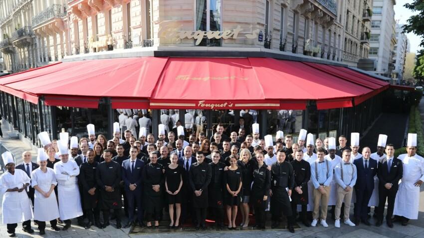 PHOTOS - Le Fouquet's Paris : la célèbre brasserie a réouvert ses portes après les travaux de réparation