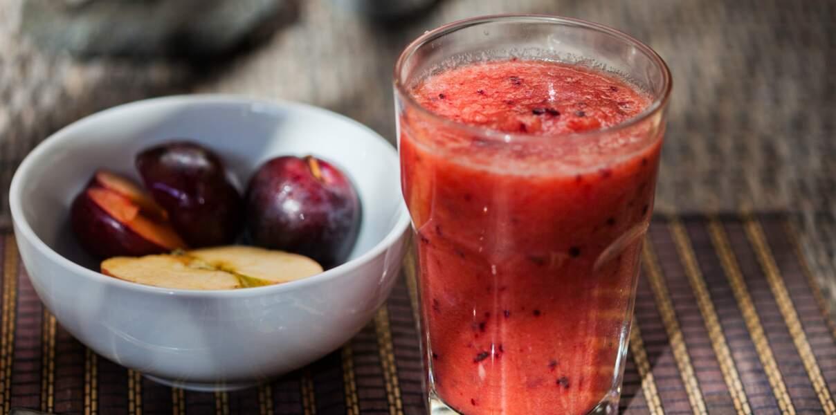 Smoothie à la prune
