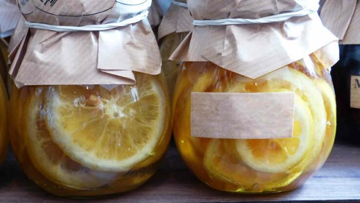 Comment faire du citron confit ?