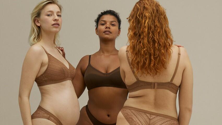 Lingerie : rondes, enceintes ou toutes plates, Oysho en propose pour toutes les morphos