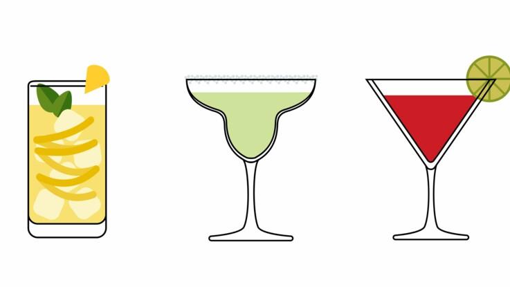 Margarita, Daïquiri, Martini : nos astuces et recettes pour réussir les cocktails mythiques