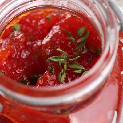 Confiture de tomate, thym et citron : découvrez les recettes de cuisine de  Femme Actuelle Le MAG