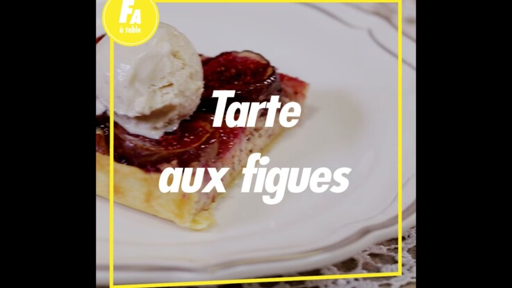 Tarte à la figue : la recette super simple avec 5 ingrédients