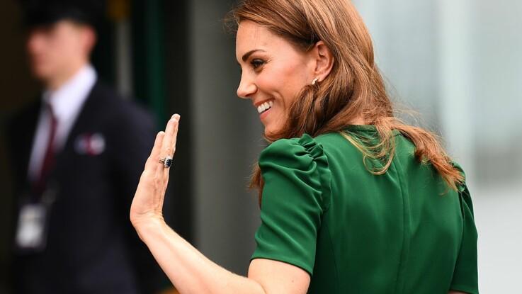 Rayonnante, Kate Middleton fait un retour mode fracassant avec un petit haut rayé (cocorico, c'est une marque française) !