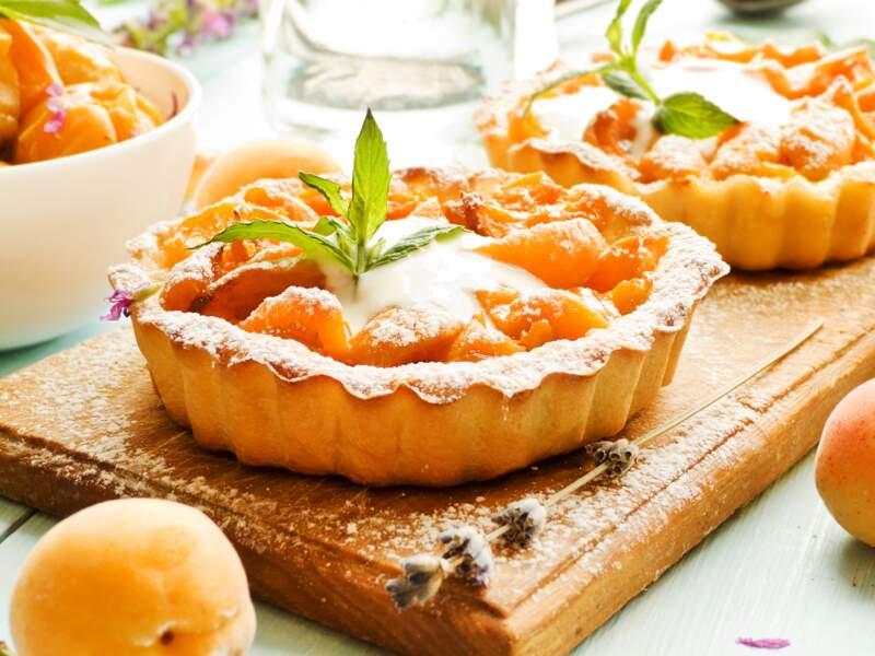 Tartelette abricot