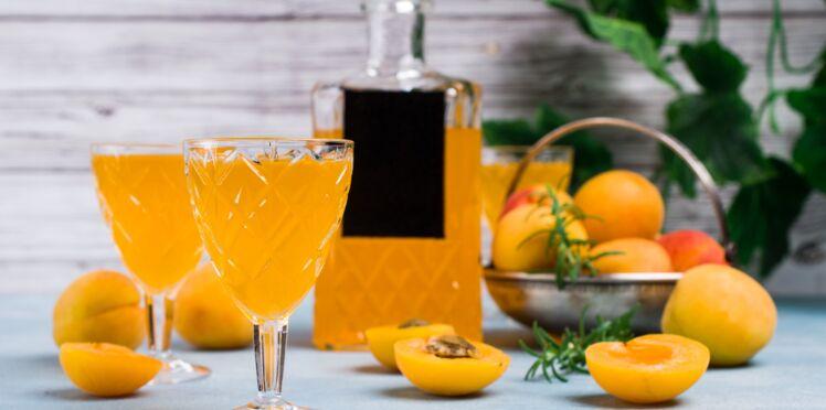 Liqueur d'abricots