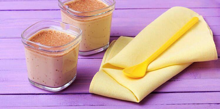 Crème au café sans lactose