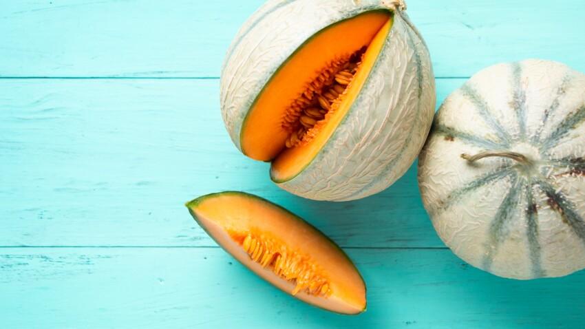 Vitamine A, lutte contre l'hypertension, anti-rétention d'eau… 8 vertus santé du melon