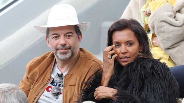 Stéphane Plaza fait preuve d'humour pour l'anniversaire de Karine Le Marchand