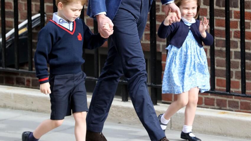 """Le prince George et la princesse Charlotte rejetés à l'école : pourquoi c'est si """"difficile"""" pour eux"""