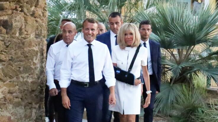 Brigitte Macron blessée au bras : a-t-elle vraiment chuté sur un bateau ?