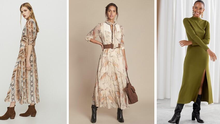 Robe longue : les plus beaux modèles pour une rentrée au top !