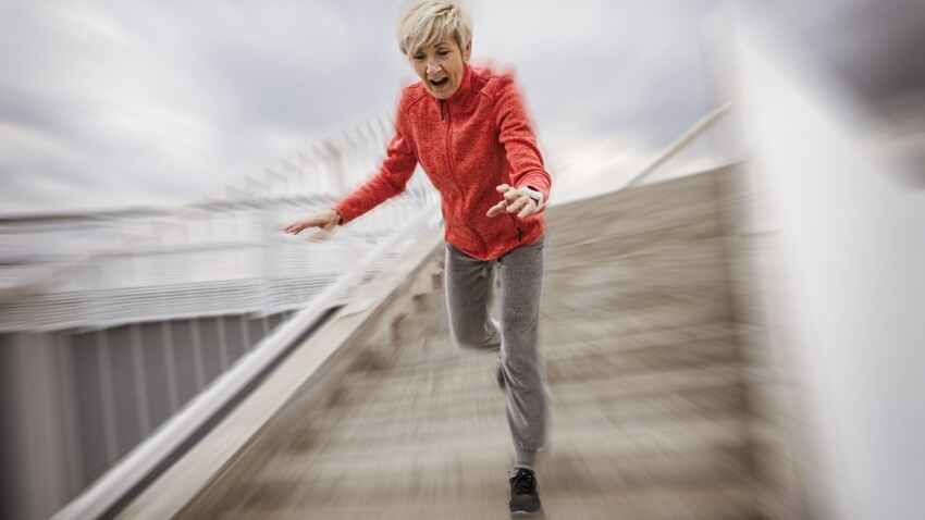 Surveiller la vitesse de la marche pour prédire les chutes ?