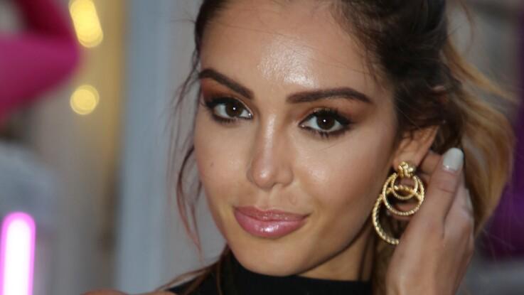 Photo - Nabilla enceinte : au top du glamour dans un total look noir ultra-moulant (so sexy !)