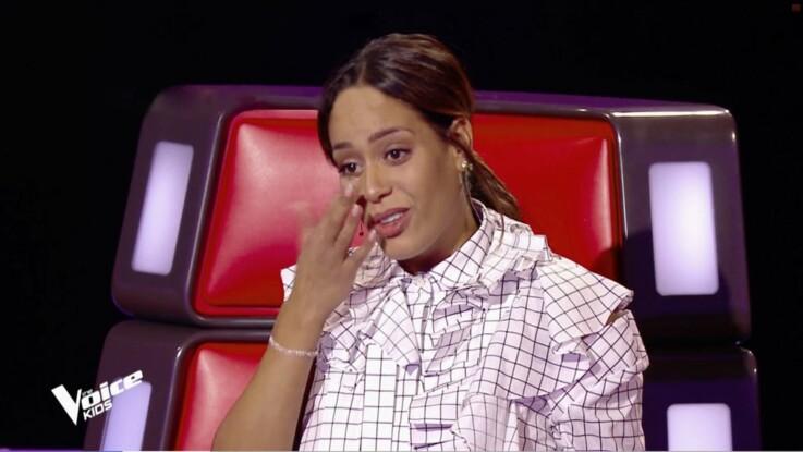"""Amel Bent : cette difficulté (presque) insurmontable sur le tournage de """"The Voice Kids"""""""