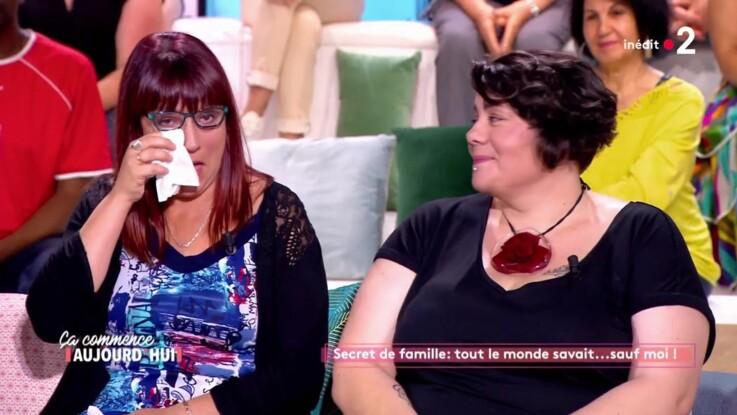 VIDEO - Ça commence aujourd'hui : une invitée en larmes après le témoignage de son frère, retrouvé 20 ans plus tard