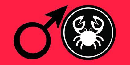 Datant mars en Scorpion